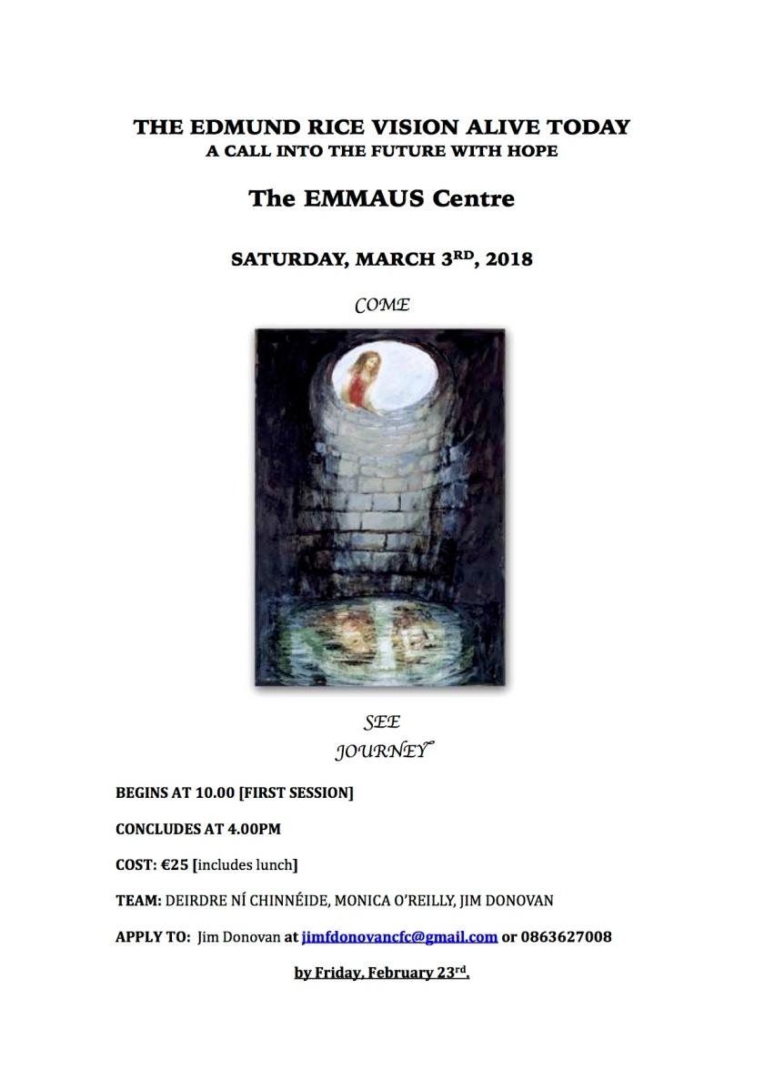 EMMAUS_MARCH3_poster